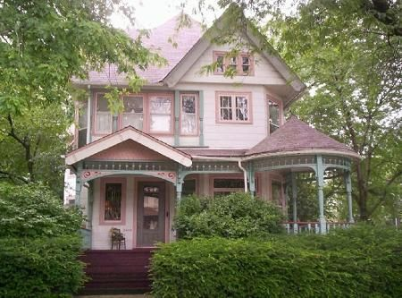 This beautiful Queen Anne Victorian was built in 1895 for one of the Nielsen Cousins (Nielsen ratings). This home is a great historic attraction in Berwyn and admired by many. 3 stories of living space, corner lot, 6 bedrooms, 2.5 baths, central air, 8 foot pocket doors, grand staircase plus butler's staircase, and more.