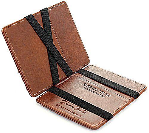 5b998565514e3 JAIMIE JACOBS ® Magic Wallet Flap Boy Slim - l Original - Portefeuille  Magique