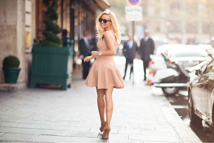 Nude coloured outfit