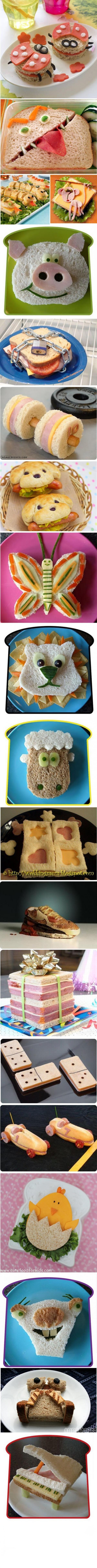 Más Recetas en https://lomejordelaweb.es/ | Découvrez 18 manières de préparer un sandwich.