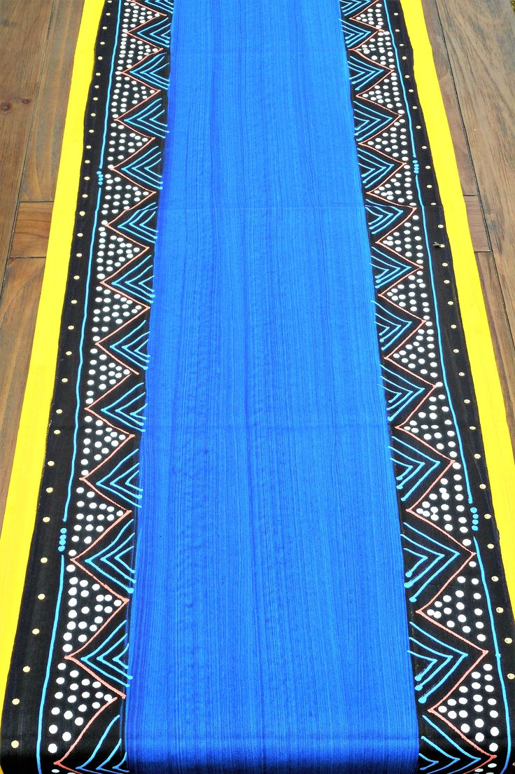 Tribal design 2 m runner, this particular, is inspired by the Ndebele people of Southern Africa ,