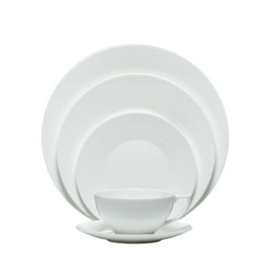 Wedgwood White by Wedgwood 5-Piece Place Setting $84.99 6-Piece Place Setting  sc 1 st  Pinterest & 23 best White dishes images on Pinterest | White dinnerware White ...