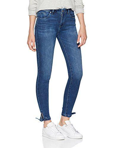 9ffdf93e Tommy Hilfiger Women's Como Rw Ankle Bow Luna Skinny Jeans Blue 912 W28