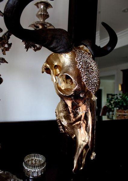 Ethereal Sunset African Wildebeest Skull                                                                                                                                                                                 More