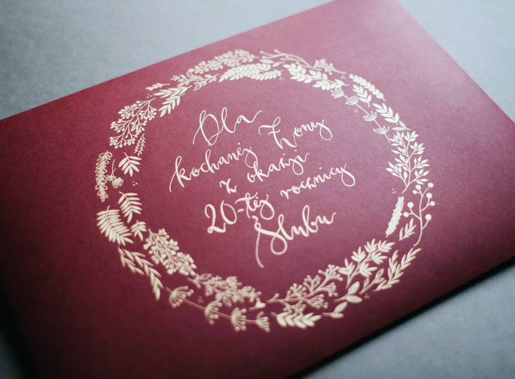Piękne prezenty potrzebują pięknej oprawy. Koperta A4 ;) #calligraphy…
