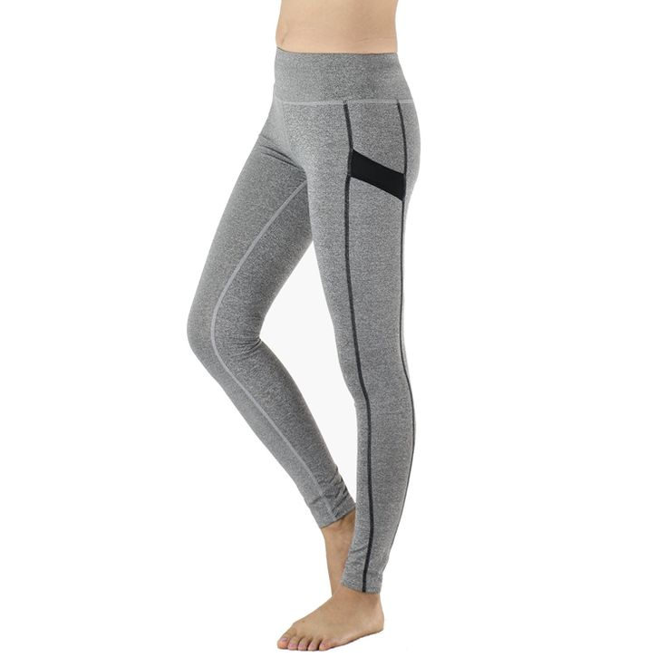 Sale 14% (12.01$) - ARSUXEO Women Yoga Pants Legging Sports Compression Tights Elastic Running Trousers