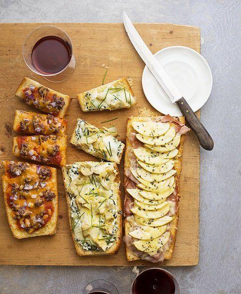 Spinach- Artichoke Pizza