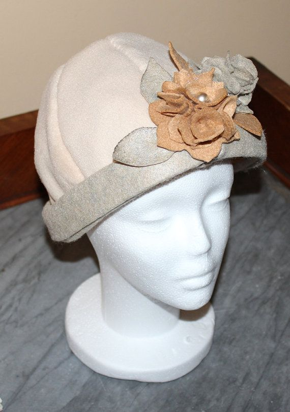 cappello cloche donna -pile