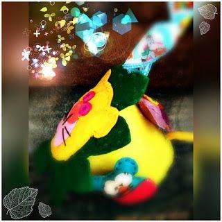 POIANA CU GAZUTZE: Leut fermecat-jucarie din fetru cu zornaitoare #fetru #handmade #craciun #cadou #moscraciun #jucarie #coronita #mosnicolae #sarbatori #decoratiuni #ornamente #felt #christmas #ornaments #decorations #toys #christmastree #santa #gift