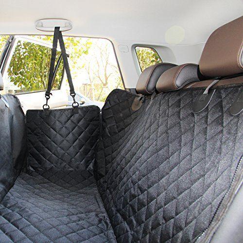 ELITIST Housse de siège auto de chien Imperméable Facile à nettoyer Housse de protection de banquette arrière de voiture Housse de siège de…