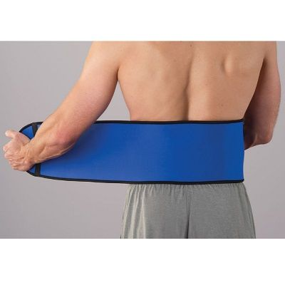 The Therapeutic Infrared Back Wrap - A back wrap that uses one's own body heat to help relieve pain and improve circulation