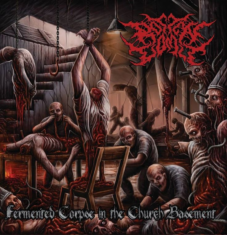 Rotten Vomit - Fermented Corpse in the Church Basement via RTM Productions. Click on the image to see more!