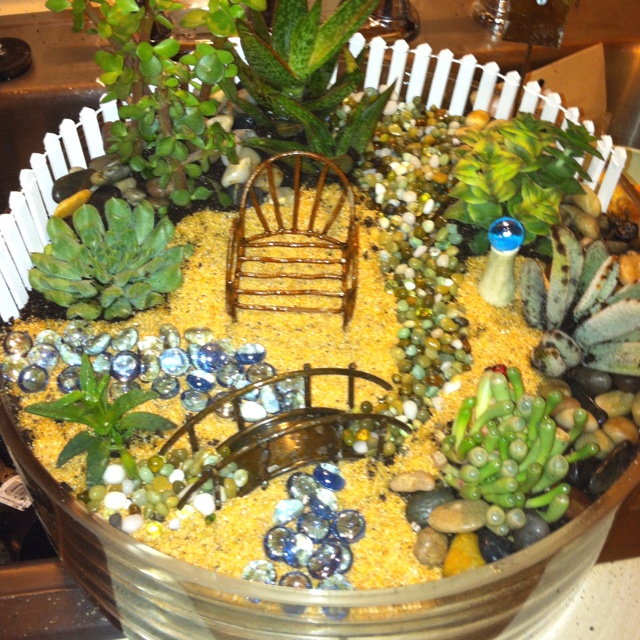 Indoor Fairy Garden Ideas Photograph 6685  My first attempt