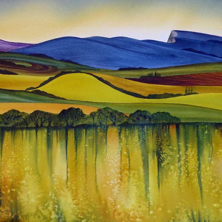 Landscape by Raewyn Harris www.raewynharris.nz
