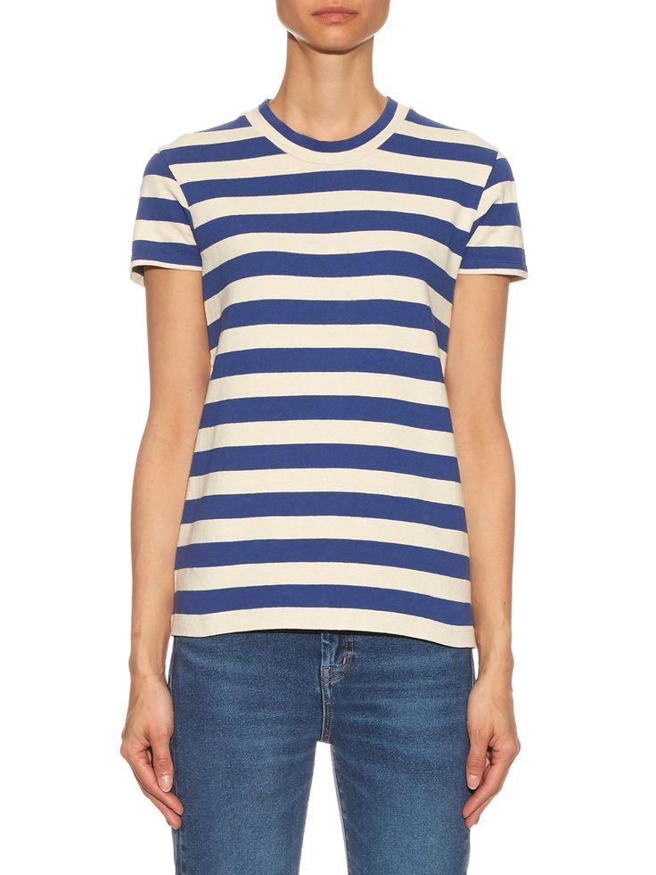 M.i.H Jeans - | Range Short Sleeved Striped Cotton Tee