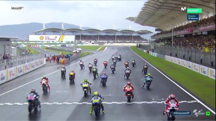 Malaysian GP Race - GO!!