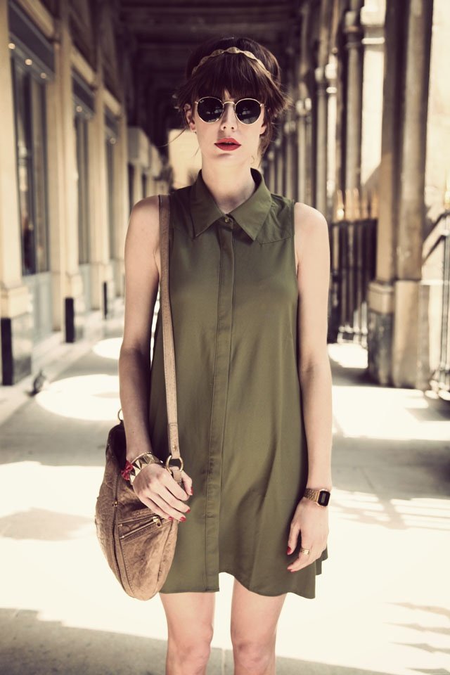 Marie from the blog Into Your Closet   http://intoyourcloset.blogspot.fr/2013/06/kaki-chic-contest.html