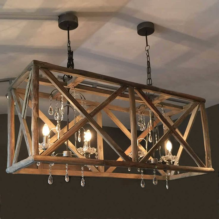 Best 25 Wooden Chandelier Ideas On Pinterest