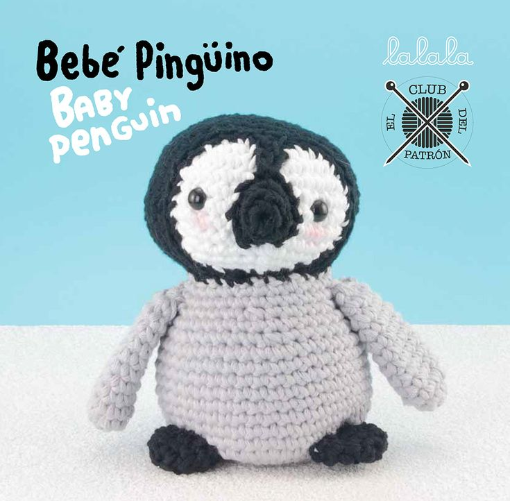 33 best PINGÜINOS images on Pinterest | Patrón gratis, Patrón libre ...
