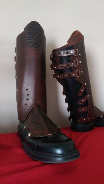 Picture of Leather Star Lord Boot Covers (Gaiters) Guardians of the Galaxy