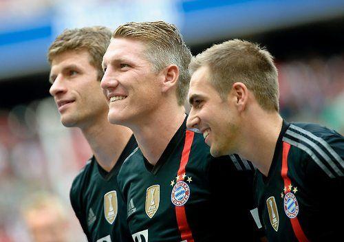 Müller - Schweinsteiger - Lahm