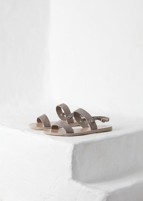 "minimalismco: "" ancient greek sandals should definitely be a staple in any girl's summer capsule wardrobe. shop from our curated capsule collection here. """