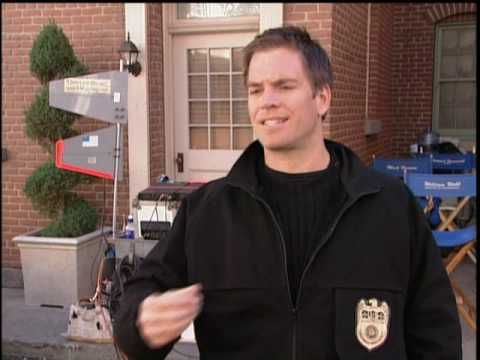 Behind The Scenes of NCIS - YouTube.  Micheal singing=priceless