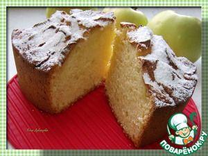 Творожно яблочный пирог mignt be cooked in multi