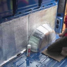 How to insulate a camper van? What's the best insulation to use for camper van conversions? What's the best way to insulate a van? Low-E will guarantee ... #campervan