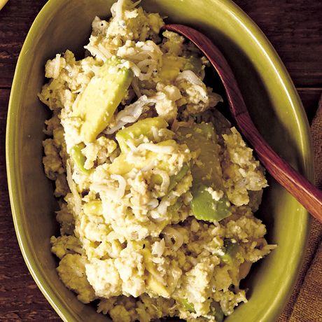アボカドとしらすの豆腐ディップ   金子健一(つむぎや)さんのソースの料理レシピ   プロの簡単料理レシピはレタスクラブネット