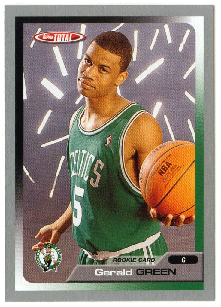 Gerald Green # 273 - 2005-06 Topps Total Basketball - Silver