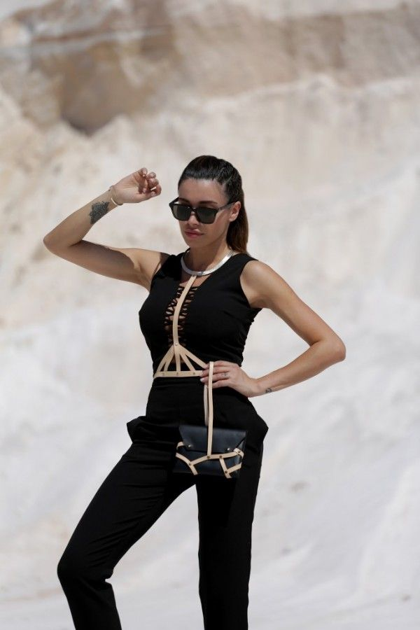 Statement Body Neckless with leather http://mikk.ro/cZof