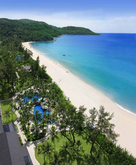 Phuket, Thailand Beach  Always wanted to go here.   This will be my first place out of the US I go too