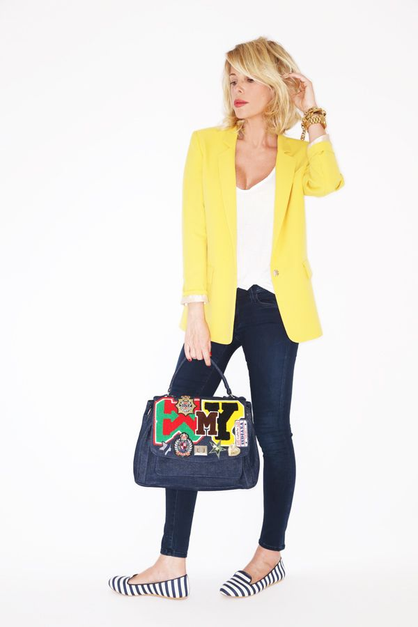 Yellow, Stripes and Smile http://www.lapinella.com/?p=21517