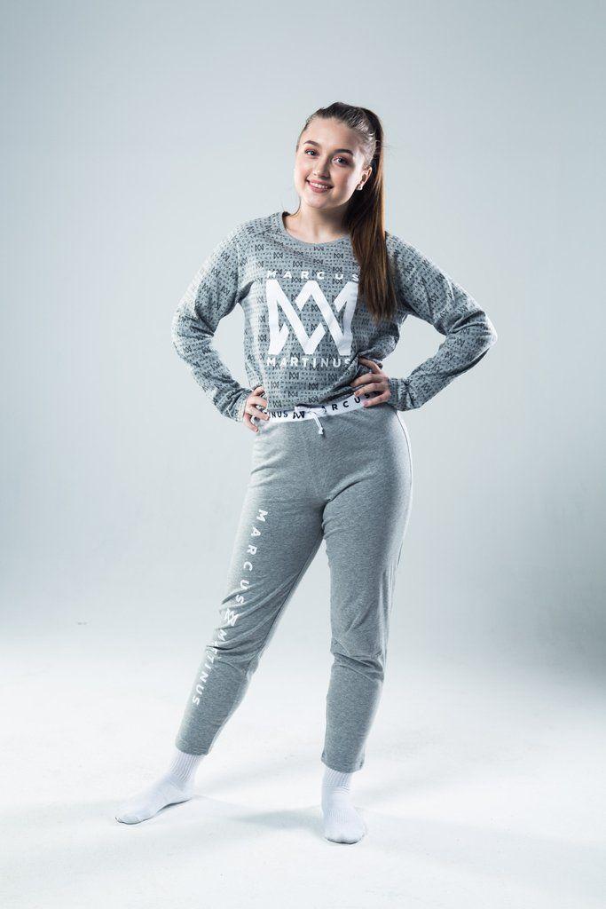 Gray Pyjama Set