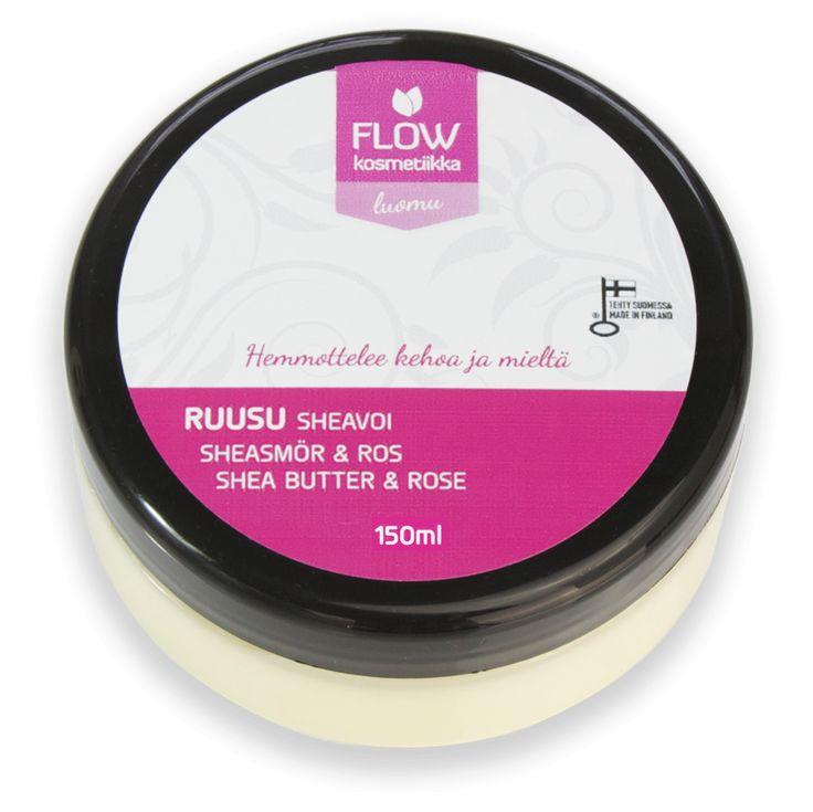 Ihonhoito| Flow Kosmetiikka Ruusu Sheavoi
