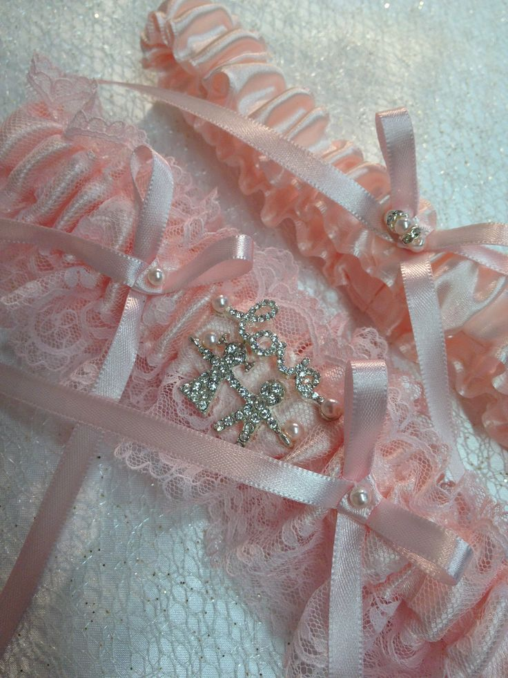 "The ""Giorgina"" Pink Garter Set. Ships worldwide. Wedding Garters of distinction. https://www.etsy.com/listing/200552980/wedding-garter-the-giorgina-pink-garter?ref=shop_home_active_19"