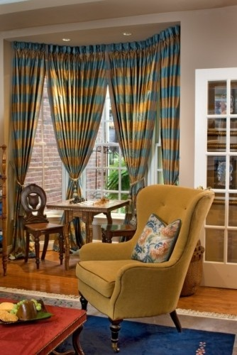 traditional family room by Debbie Wiener