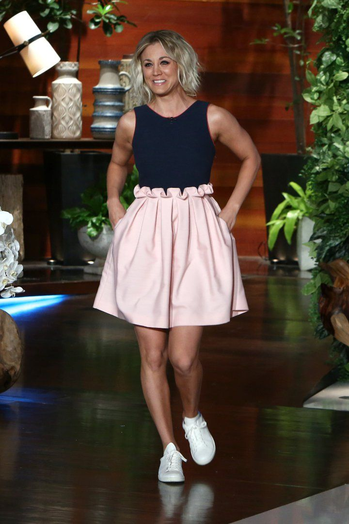 Kaley Cuoco Just Wore the Perfect Dress to Show Off Her Tattoo
