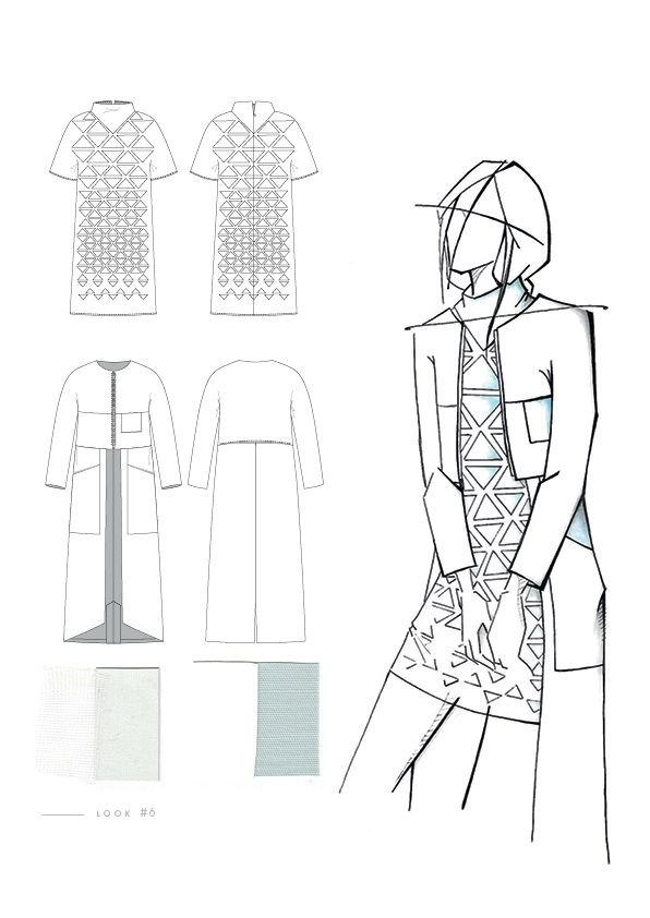 Fashion Sketchbook - fashion design drawings; creative process; fashion portfolio // Aylin Karakoc