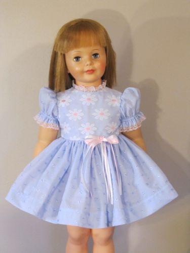 811385384d0 PRETTY BLUE EYELET DRESS FOR 35