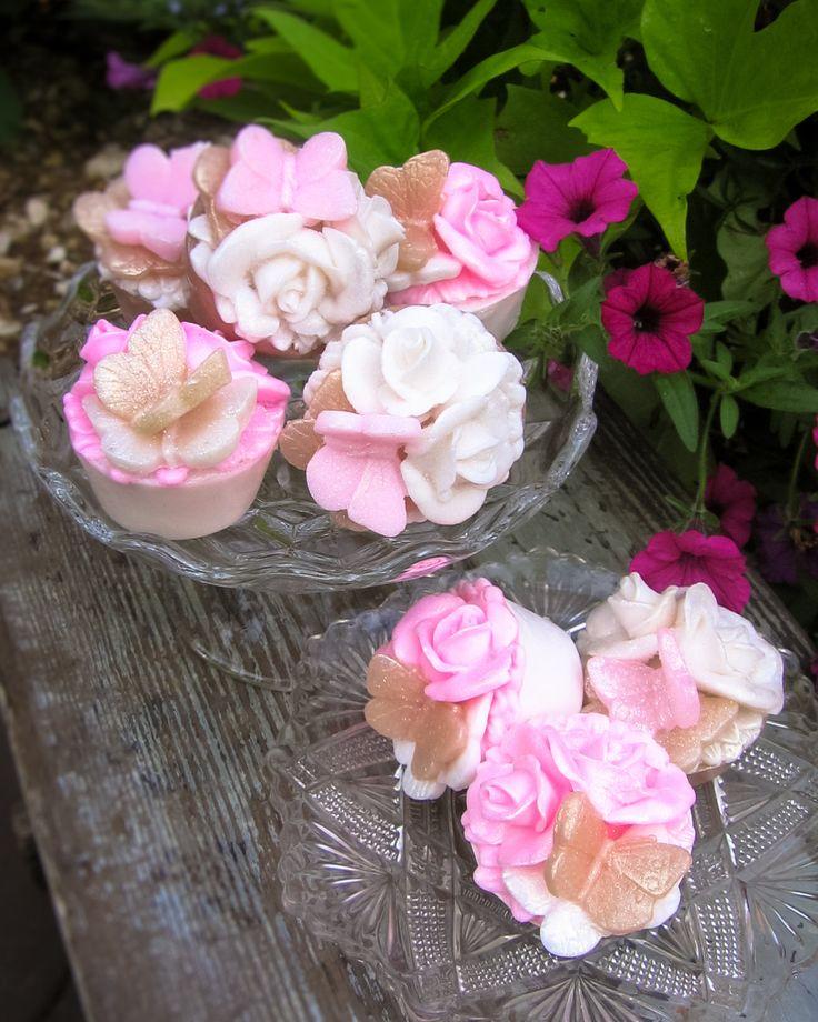 50 Soaps, Rose Soap, Garden Party, Pink Rose, Ivor…