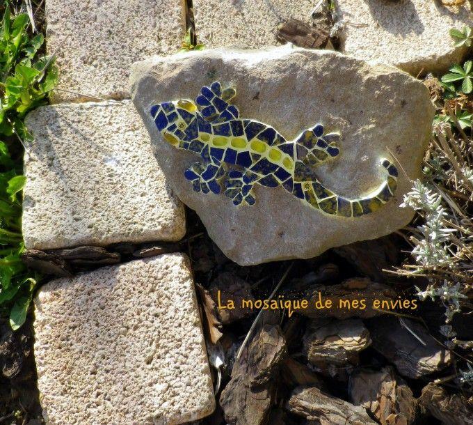 Gécko sur pierre
