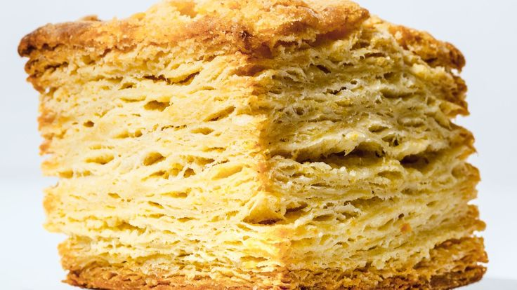 Stacking and flattening the dough creates lots and lots of flaky layers that beg to be pulled apart and slathered with softened butter. And honey, if you're into that sort of thing. This is part of <a href=