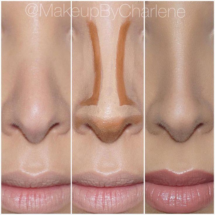 """Lilly Ghalichi on Instagram: """"Nose contour by @makeupbycharlene  #GhalichiGlam #LillyLashes #LillyGhalichi"""""""