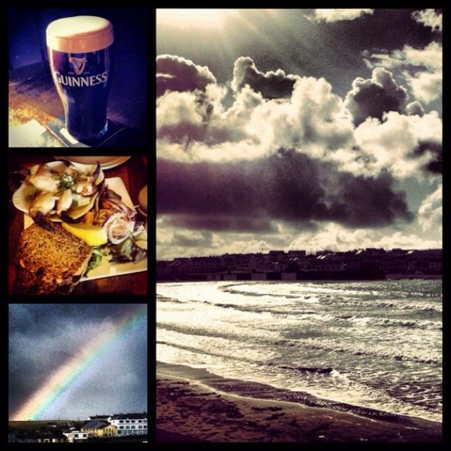 A snap shot of my weekend in kilkee, Ireland
