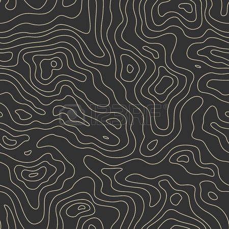 topographie: Carte topographique de Seamless. Vector Background Illustration