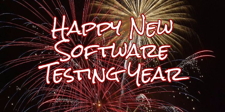 Happy New Software Testing Year