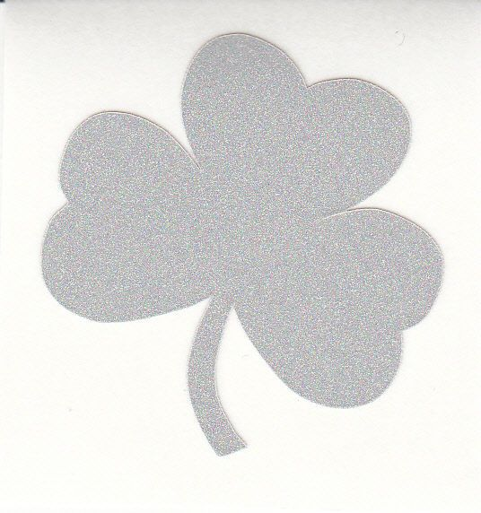 Notre Dame Fighting Irish shamrock 1.5 inch reflective fire helmet decal sticker  | eBay