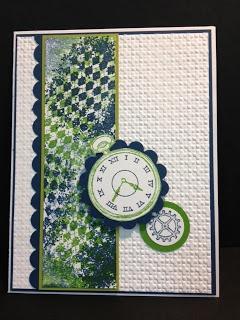 Clockworks Masculine Card  Stampin' Up!